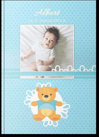 Fotoksiążka dziecięca dla chłopca A4 Pion