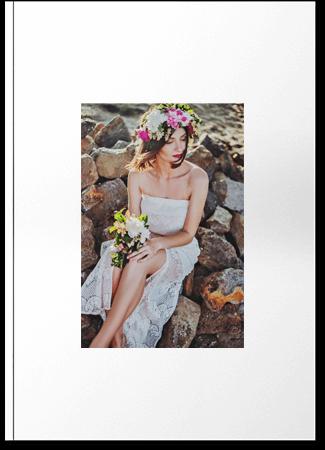 Fotoksiążka biała A4 Pion