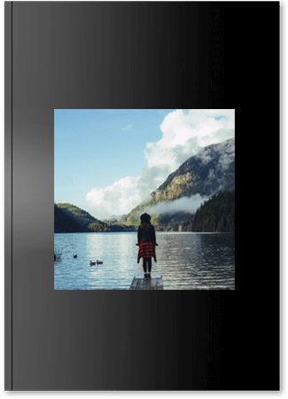 Fotoksiążka czarna A4 Pion