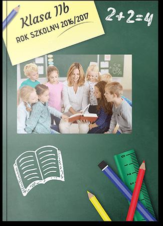 Fotoksiążka szkolna A4 Pion