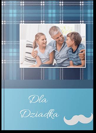 Fotoksiążka dla dziadka A4 Pion