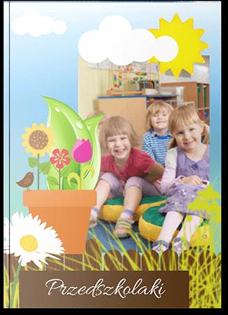 Fotoksiążka dziecięca przedszkolaki A4 Pion