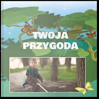 Fotoksiążka dziecięca przygoda 20x20