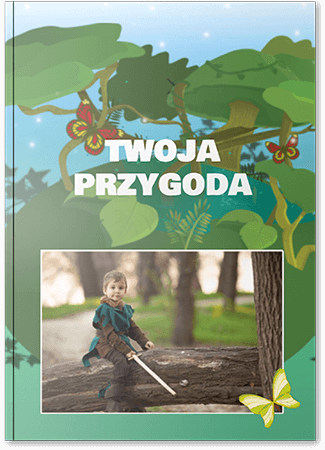 Fotoksiążka dziecięca przygoda A4 Pion