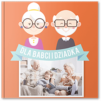 Fotoksiążka dla babci i dziadka 20x20