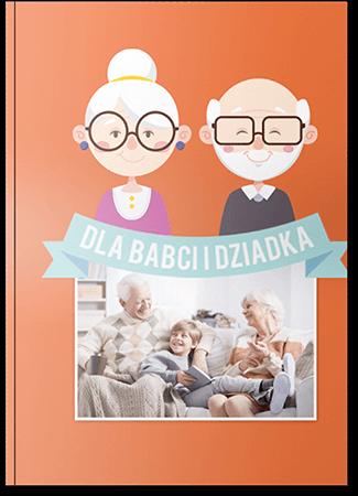 Fotoksiążka dla babci i dziadka A4 Pion